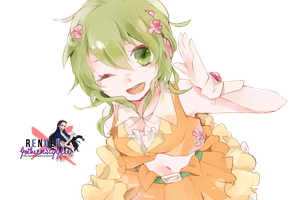 Render Gumi Kawaii by GothicxStyylee