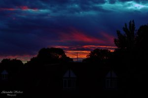 Sunset in Wembley by LoveSexAndDrugs