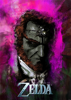 Ganondorf Portrait by Lwiis64