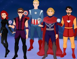 Avengers Request by M-Mannering