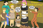 Leslie's High-Stakes Thanksgiving! by MisterMistoffelees