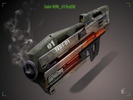 Solar Rifle_01TestD8 by shiprock