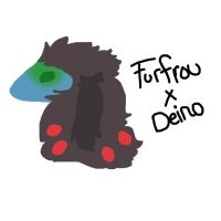 Furfrou Deino Cross by ZeloYongguk