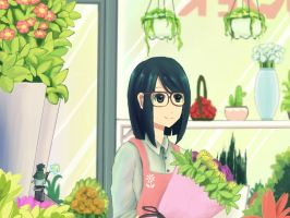 Flower Shop ~ by harrynanashi