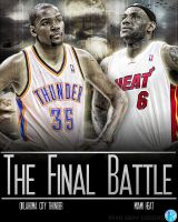 NBA Finals poster by RGray525