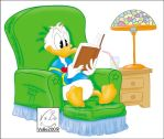 Reading Duck by VoBo