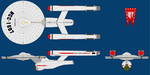 USS Afar NCC-1607 TOS era by tybarious