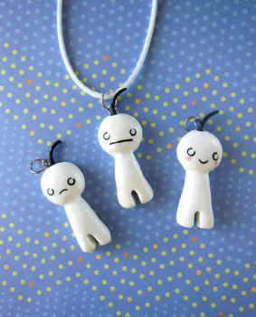 Cry (Cryaotic) Necklace by LittleBreeze