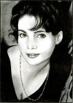 Julia Ormond by Alene