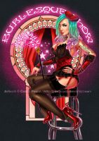 PIN-UP BURLESQUE by J-Estacado