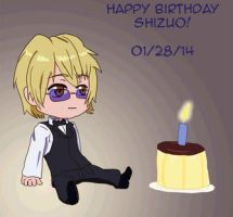 Happy Birthday Shizuo 2014 by queenjazz225