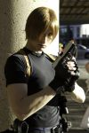 Leon Scott Kennedy by xProfAwesome