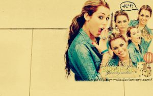 Miley Cyrus Wallpaper by Fairy-T-ale