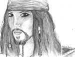 Captain Jack Sparrow - POTC by AmayasFantasy