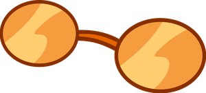 Orange Sunglasses Vector by EponymouslyEponymous