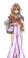 Aerith Gainsborough by Agacross