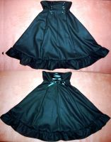 EGL High-Waist Skirt by kawaii-nia