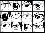 Fairy Tail Eyes by Randazzle100