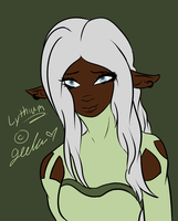 Lythium-Flat Colored by JedaUW