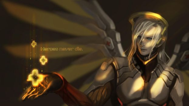 Gender-bend Mercy by Athena-Erocith