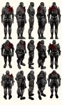 Mass Effect 2, Male Shepard BD Armour Ref by Troodon80