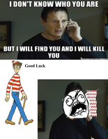 Waldo Rage Comic by CHL99