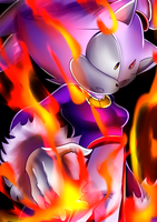 Angry Blaze is Angry by Artheyna
