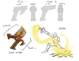 Handguns to Whip for PSOWill by kagami5566