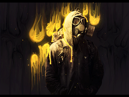 Gas Mask by Jeniality