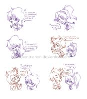Clawd is Pranky's BESTFRIEND by Hasana-chan