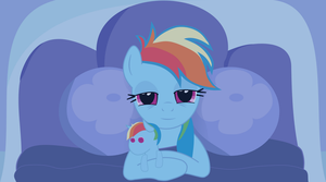 Good Night, Rainbow Dash by DestinyProgenitor