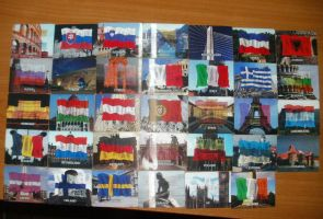My European country collection by AerisSs