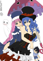 Happy Halloween   Perona And Juvia by victorhvicente