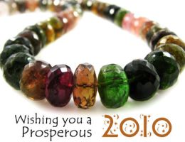 New Years Beads by BeadsofCambay