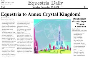 Fallout: Equestria Newspaper by just42day87