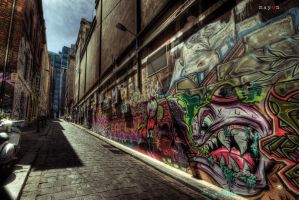 HDR - Graffiti Attack 01 by mayonzz
