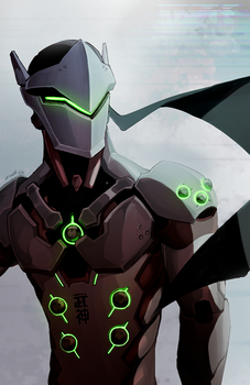Overwatch: Genji by Denimecho