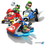 Mario Kart 8 - Mario Bros. by Legend-tony980