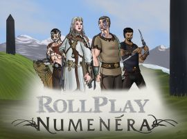 Rollplay RnD - Numenera fan poster by SteveNoble197