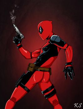 Deadpool Finished by lolpants725