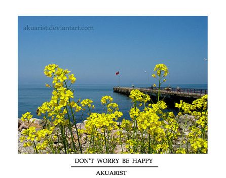 Don't Worry Be Happy by akuarist