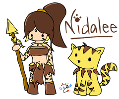 League Of Legends - Nidalee by dcheeky-angel