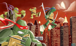 TMNT by MattCarberry