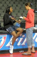 Rebecca Lobo and Kara Braxton by lowerrider