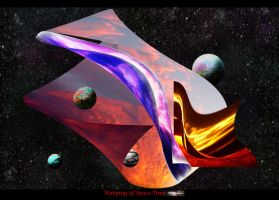 Warping of Space - Time by dodadart