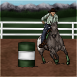 FEC Payment - Tak - HHR Barrels by painted-cowgirl