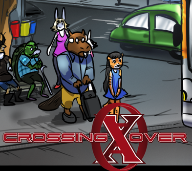 Crossing-Over #107 Remake by co-comic