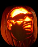 Hit the Road Jack-O-Lantern by PK4only