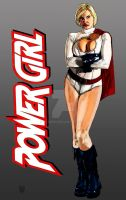 POWER GIRL. by orabich