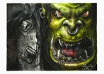 Orc - Warcraft 3 -  Reign of Chaos by 1Dage1
